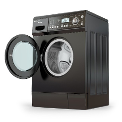 Dryer with Open Door - Appliance Repair